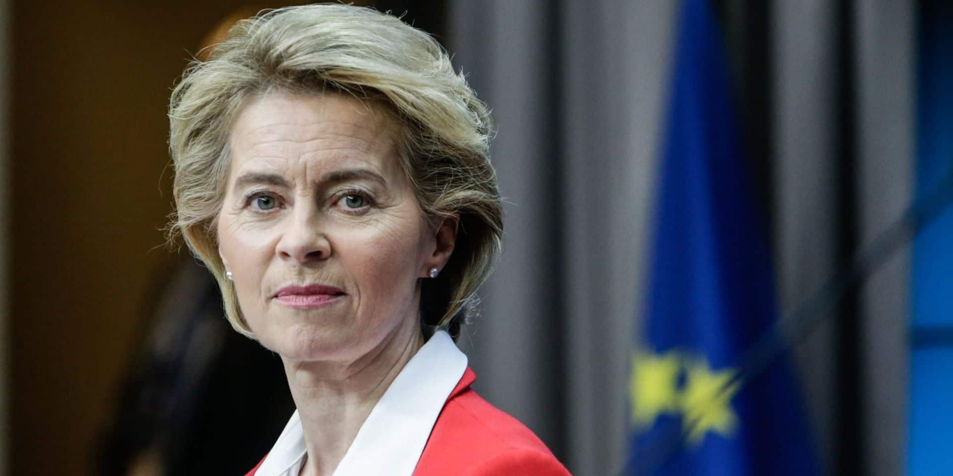 """""""Je vous présente mes excuses"""": Ursula von der Leyen exprime ses regrets à l'Italie"""