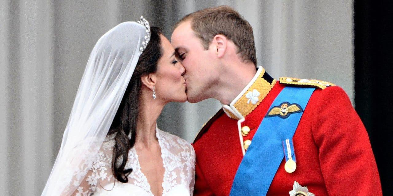 Le populaire couple royal Kate et William fête ses 10 ans de mariage