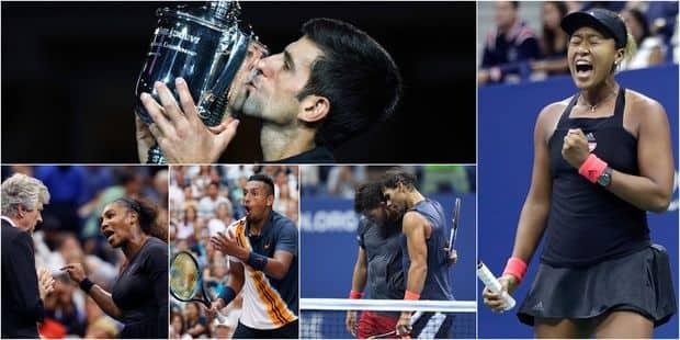 US Open: retour sur les moments forts de la quinzaine (VIDEOS) - La Libre