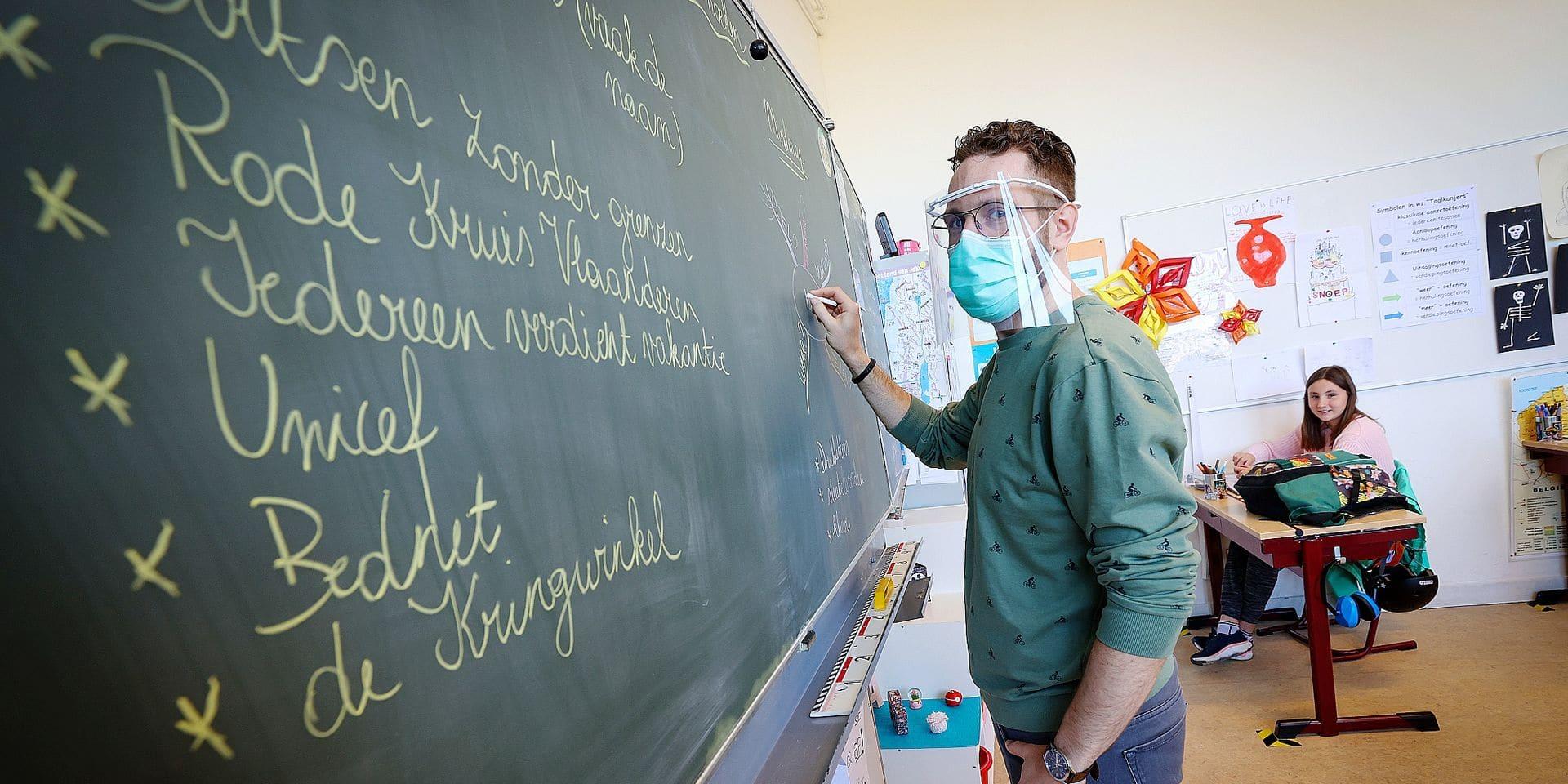Malgré le test d'entrée, la formation d'enseignant connaît un succès croissant en Flandre