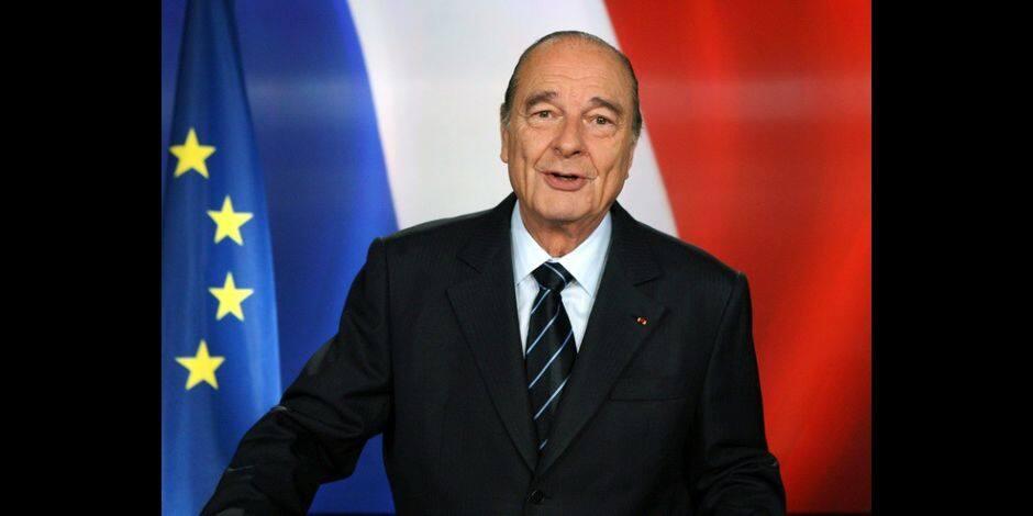 Une journée de deuil national décrétée en hommage à Jacques Chirac