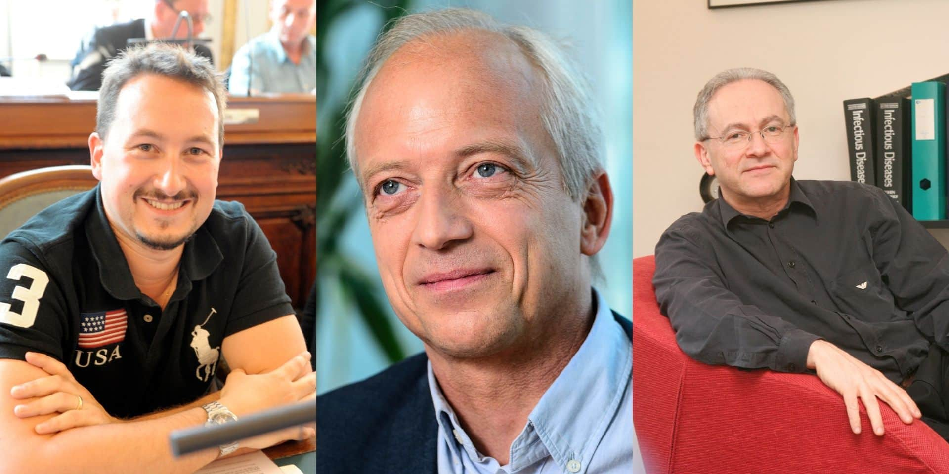 Philippe Devos, Yves Coppieters, Nathan Clumeck... se feraient-ils vacciner contre le Covid-19 ?