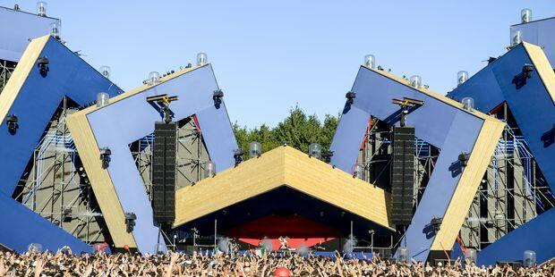 Rodhad, le bûcheron magnifique du festival Awakenings - La Libre