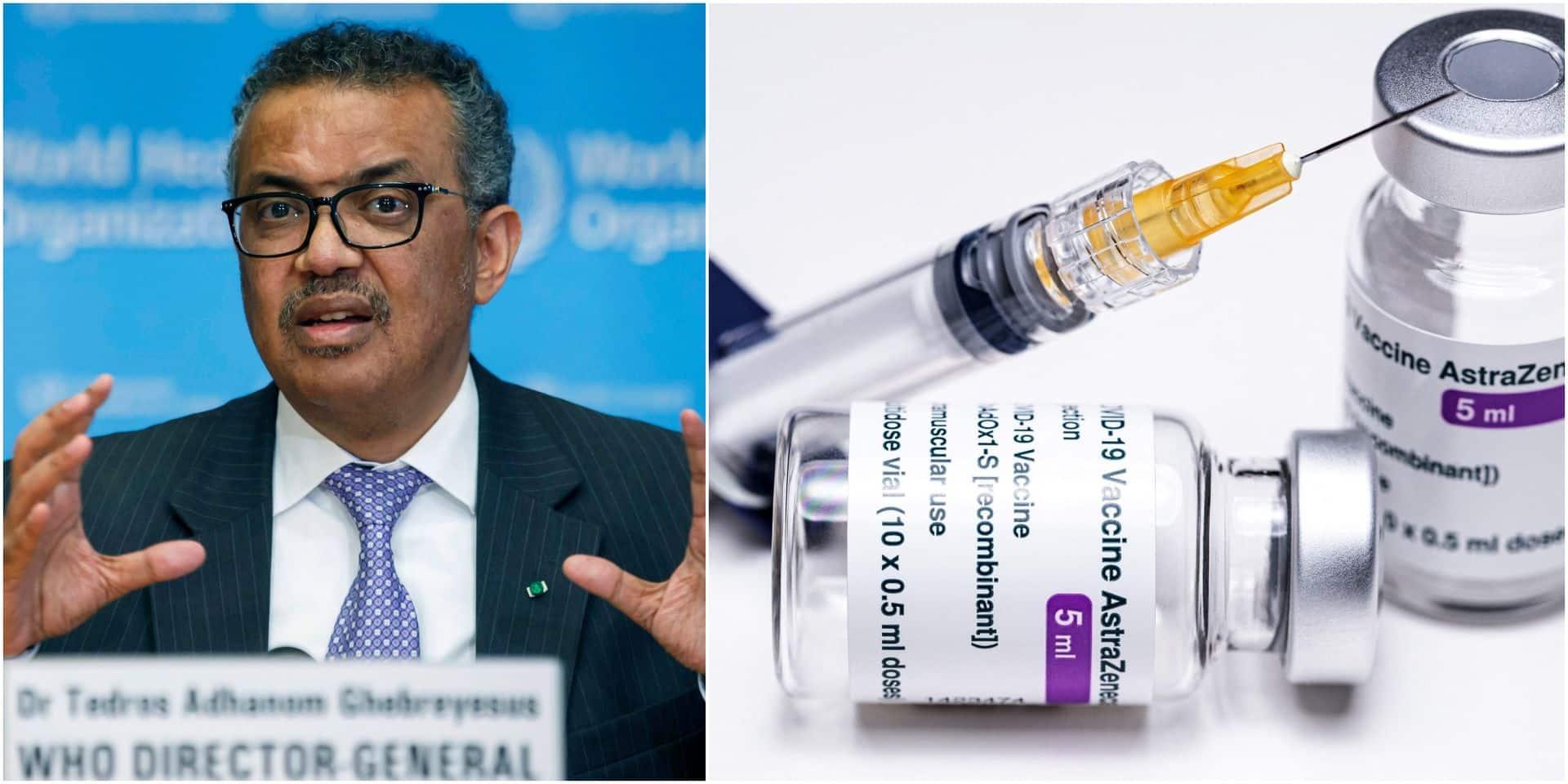 L'OMS recommande de continuer la vaccination mais se réunit mardi