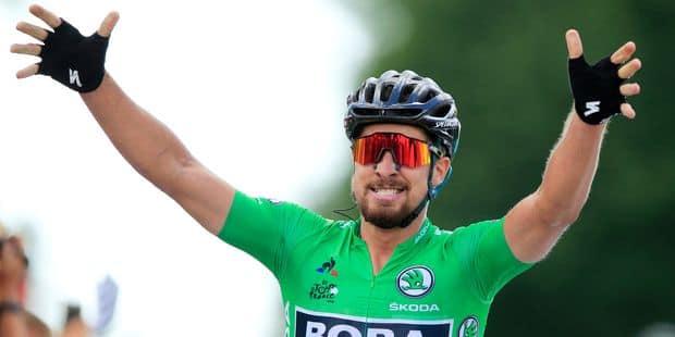Peter Sagan s'adjuge la 5e étape au panache, Gilbert 3e, Van Avermaet reste en jaune - La Libre
