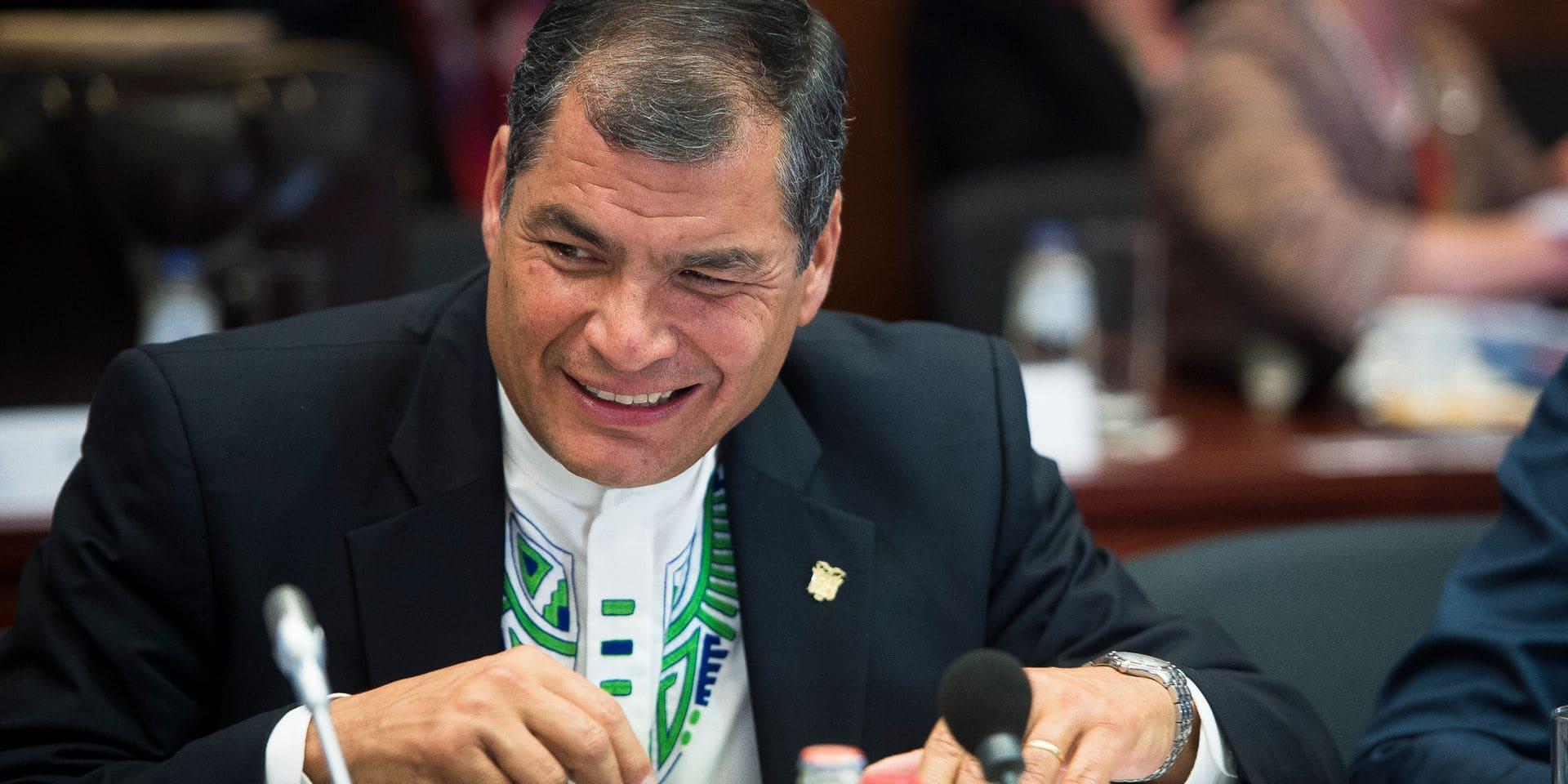 Équateur: la justice confirme la peine de prison de l'ex-président vivant en Belgique