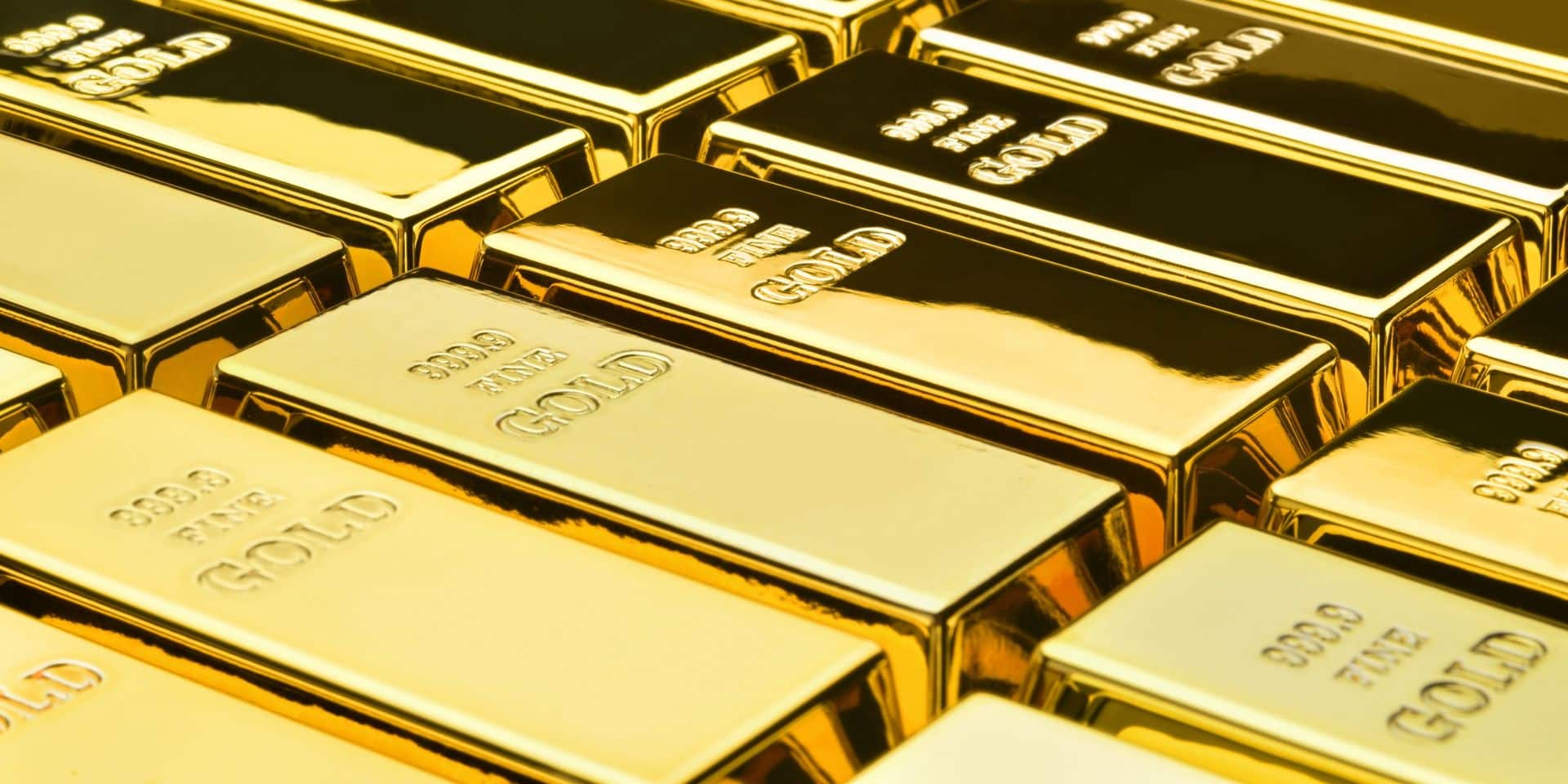 Le prix de l'or bondit à son plus haut niveau depuis trois mois