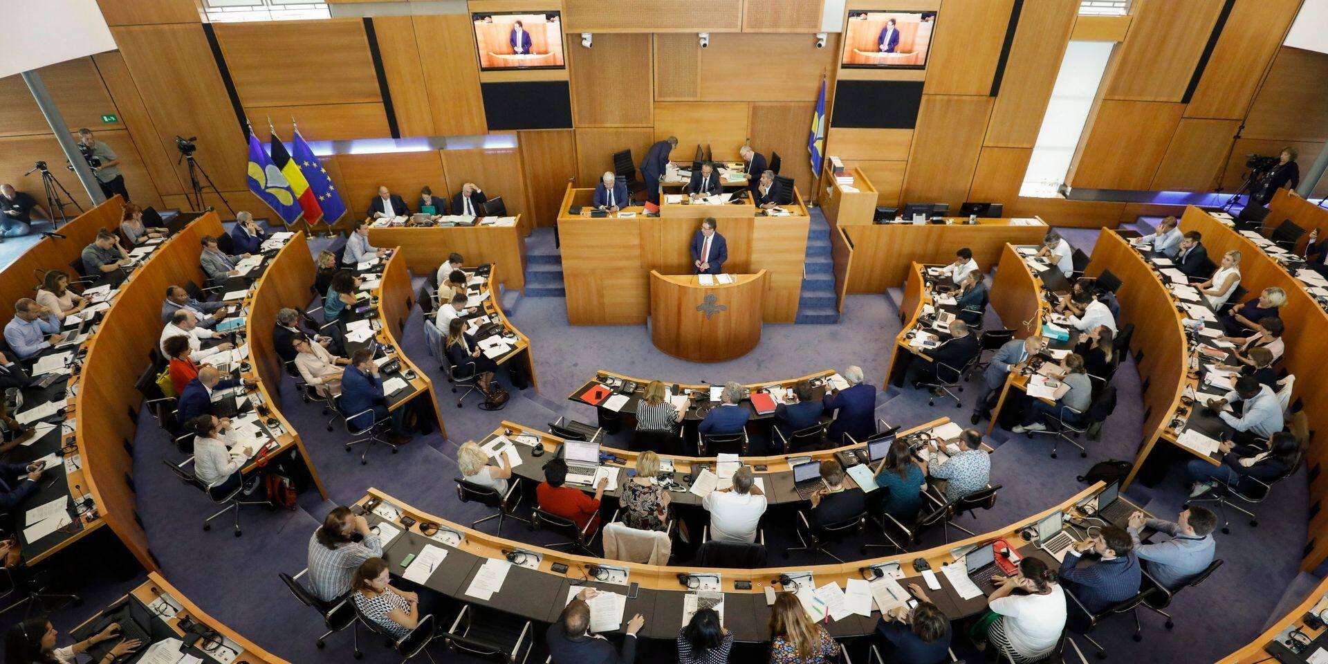 Un jeu inédit au parlement de la Fédération Wallonie-Bruxelles