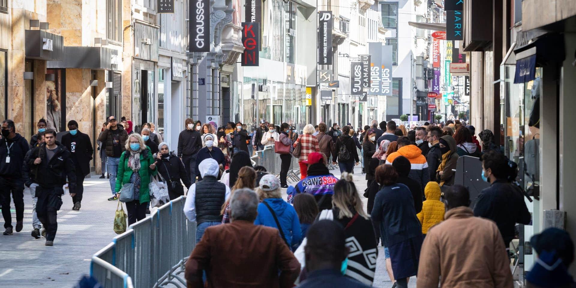 La Ville de Bruxelles étend les zones où le port du masque est obligatoire
