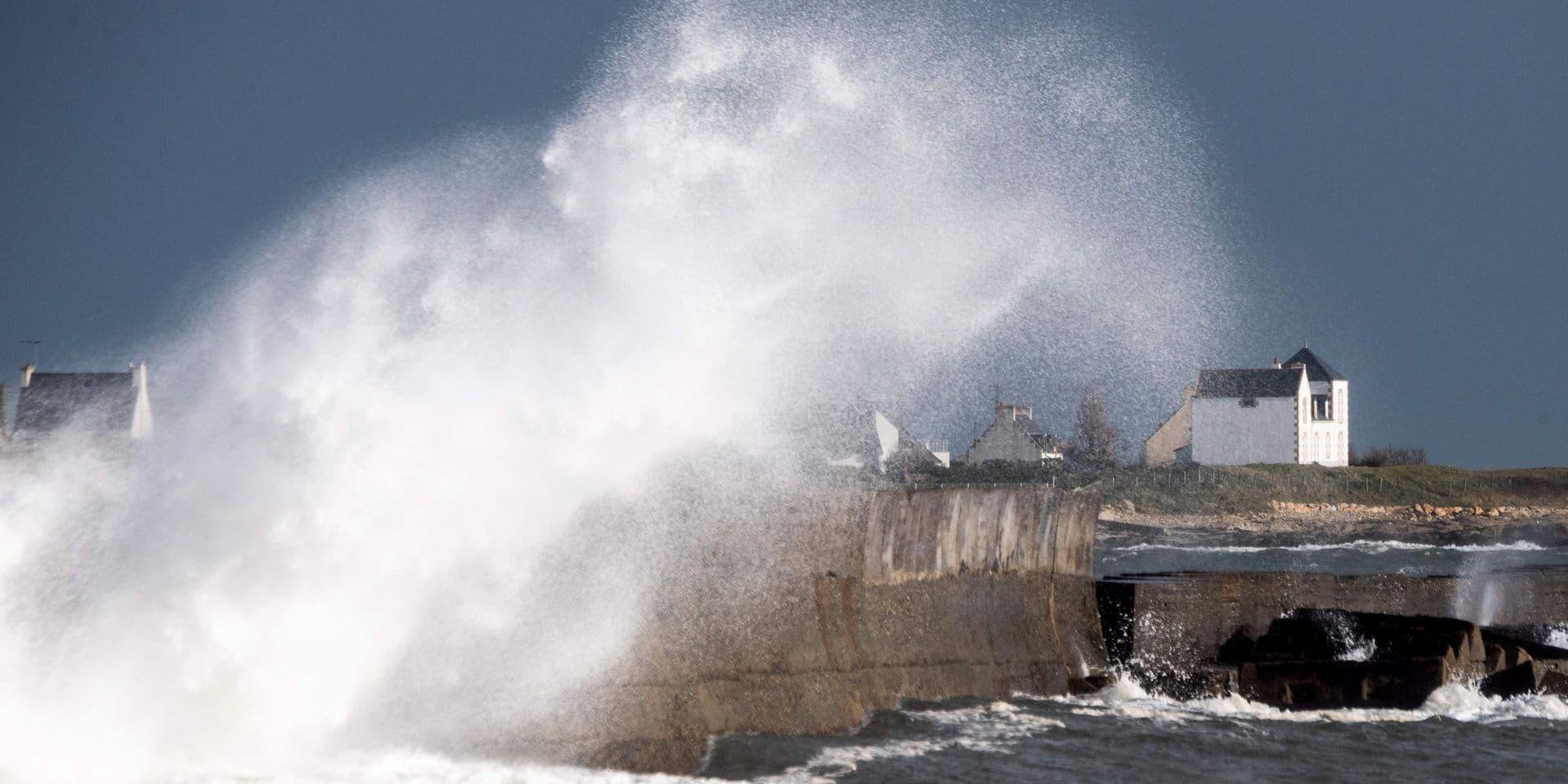 France: 25.000 foyers privés d'électricité en raison de la tempête Bella