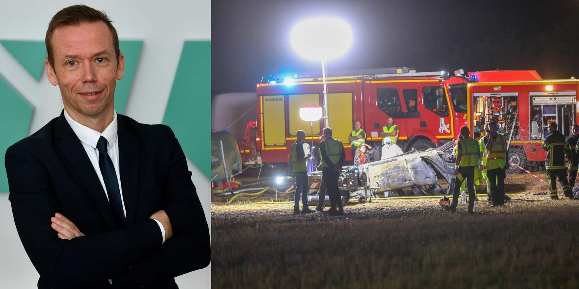 """Décès de cinq enfants dans un accident sur l'A7: """"Surcharger la voiture, c'est aller au-devant de problèmes"""""""