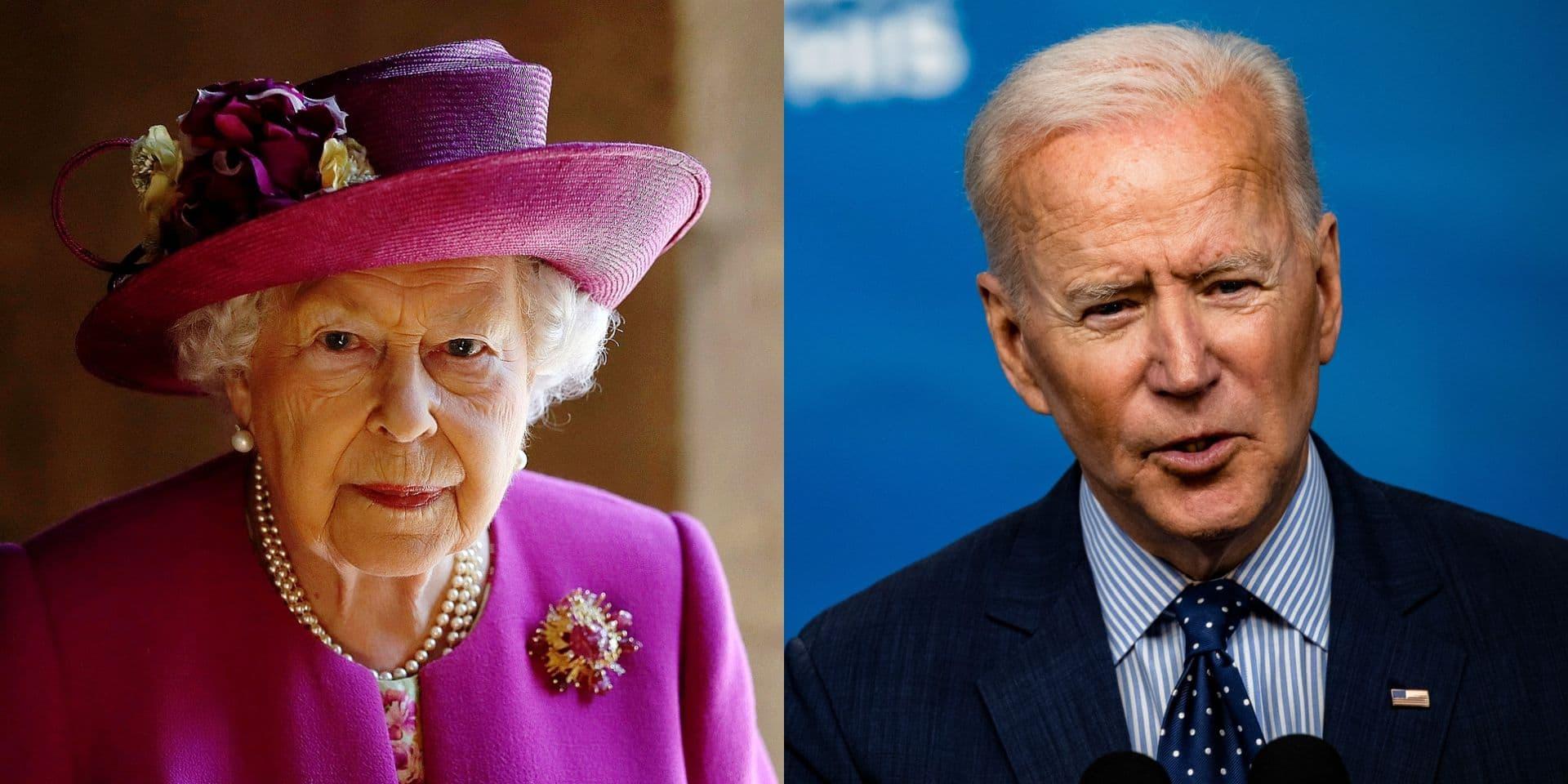 La reine Elizabeth II recevra Joe Biden en personne le 13 juin