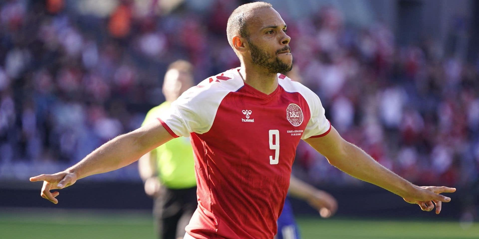 Le Danemark, futur adversaire des Diables, s'impose face à la Bosnie (2-0)