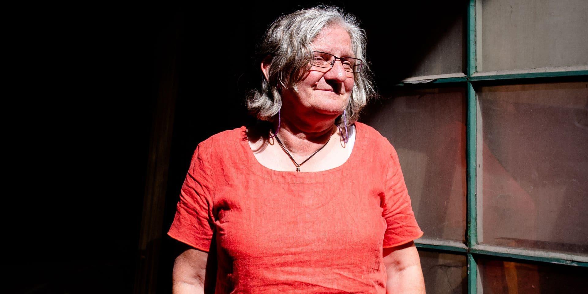 Namur - Christine Mahy - Secretaire Genérale et Politique du RWLP - Reseau Wallon de lutte contre la pauvrete