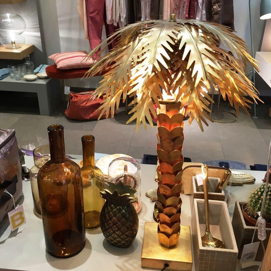 Lampe palmier style années 30, pnc