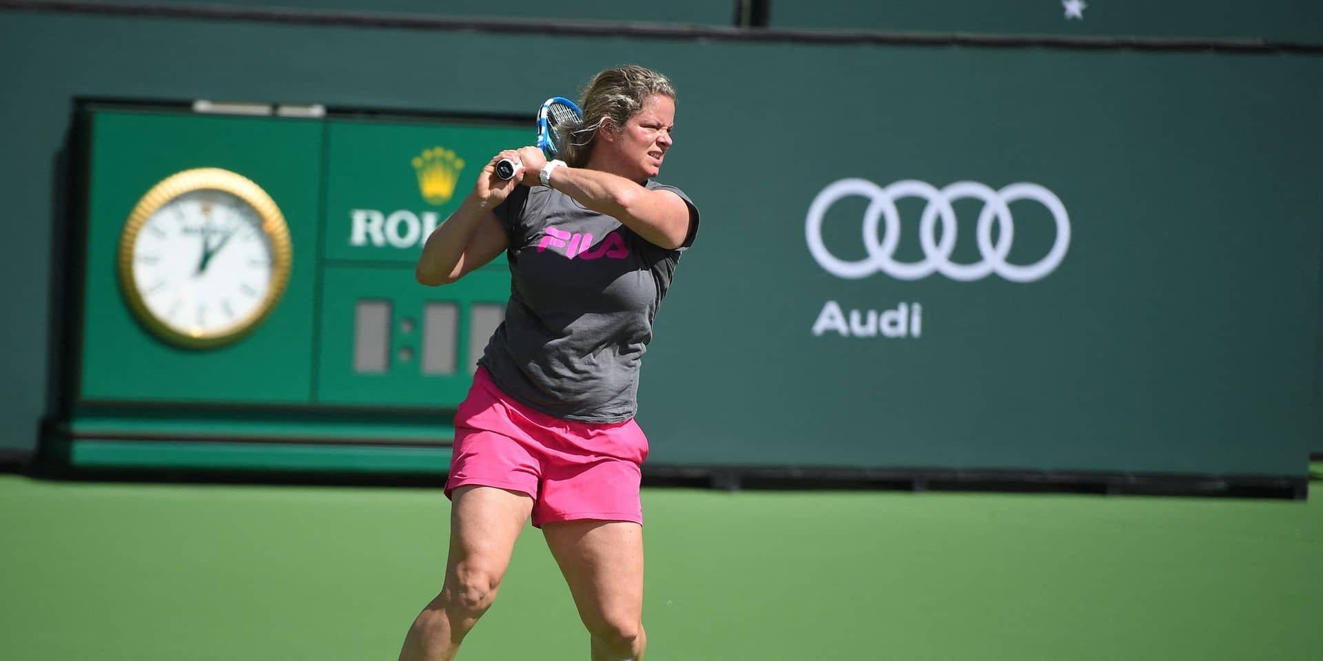World Team Tennis: Kim Clijsters de retour sur le court avec les New York Empire