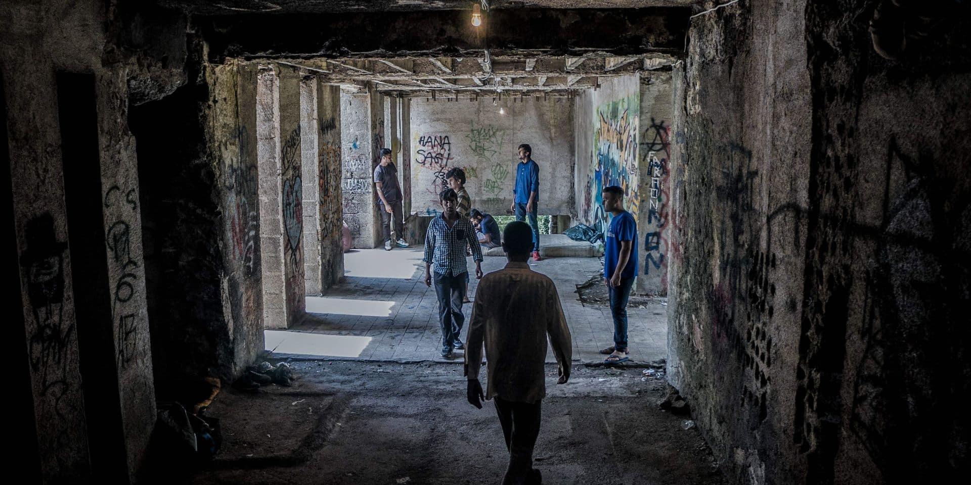 les migrants en Bosnie