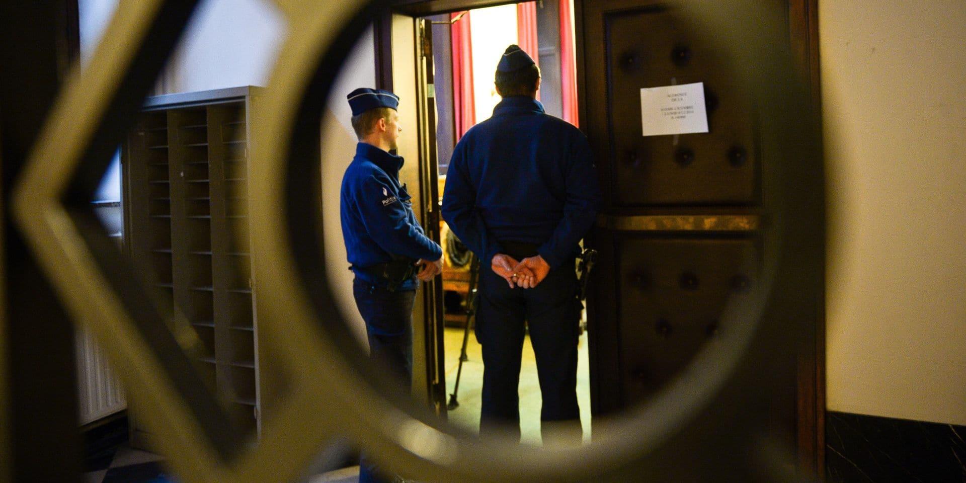 Coronavirus: malgré les mesures, une salle d'audience du tribunal correctionnel remplie à Bruxelles