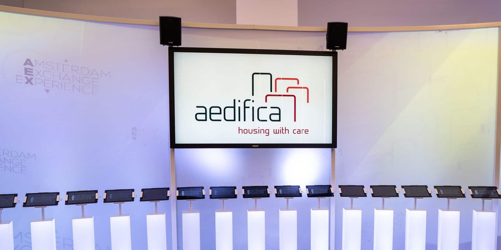 Aedifica devient membre du Bel20