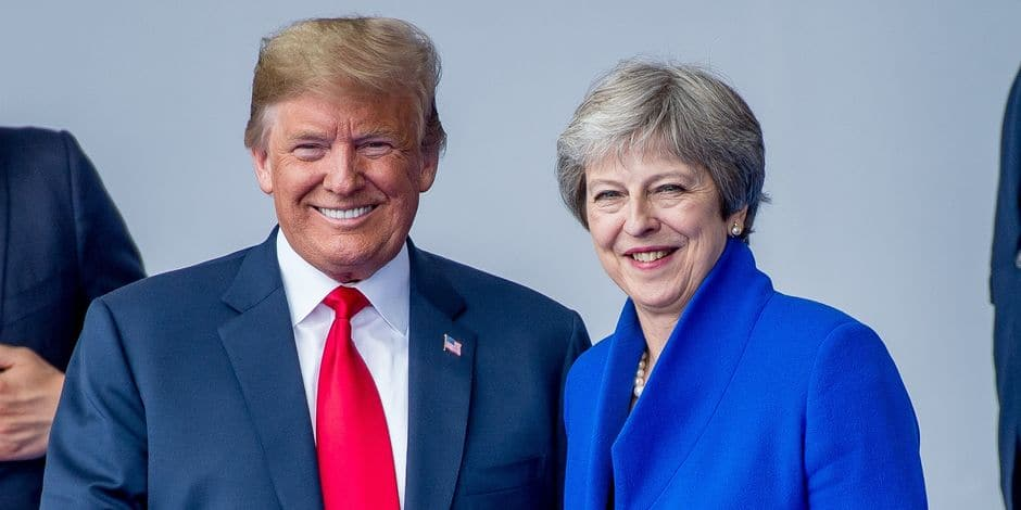 Pique adressée à May? Trump voit en Johnson