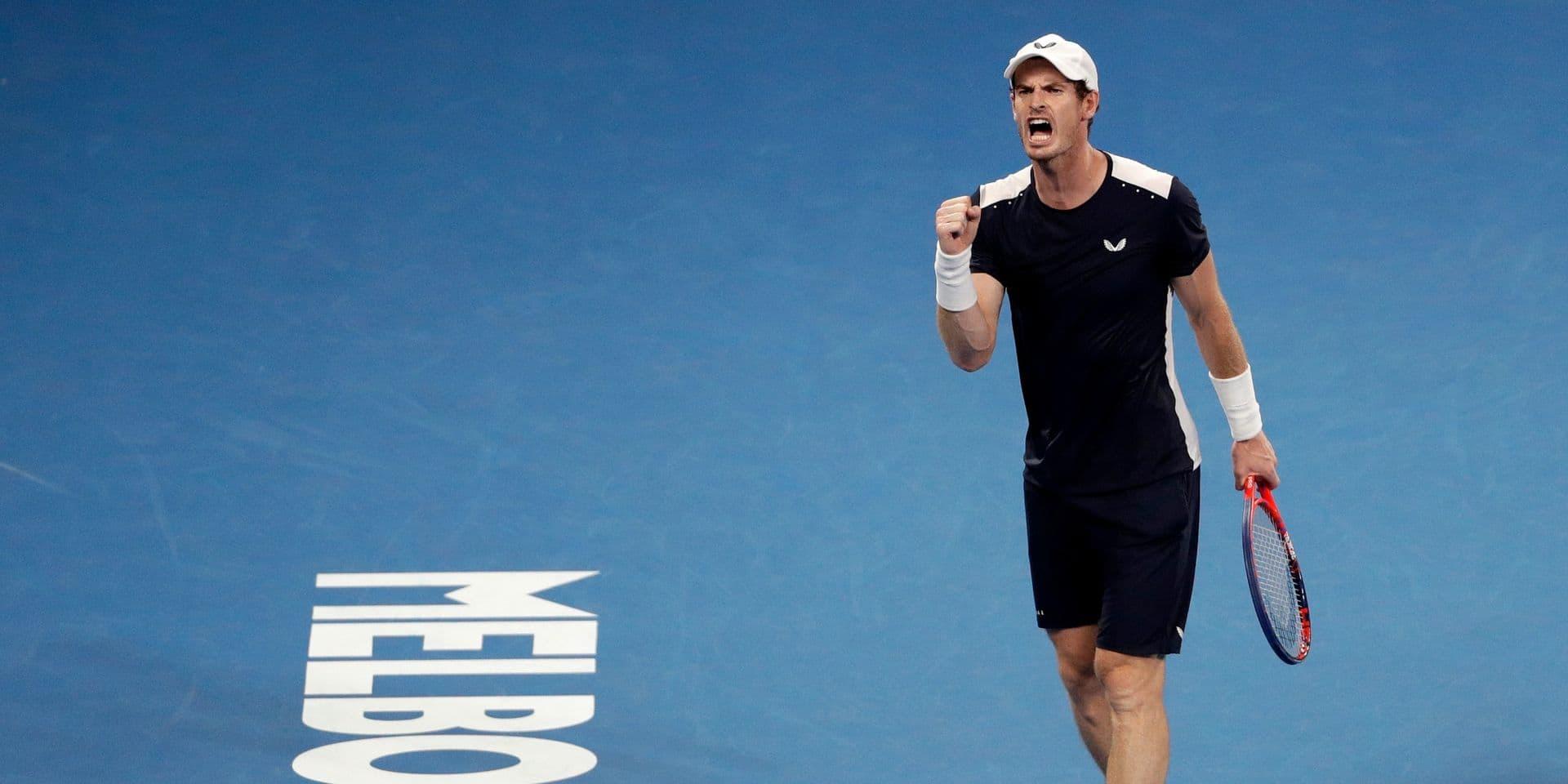 Andy Murray testé positif au Covid-19 mais espère toujours participer à l'Open d'Australie