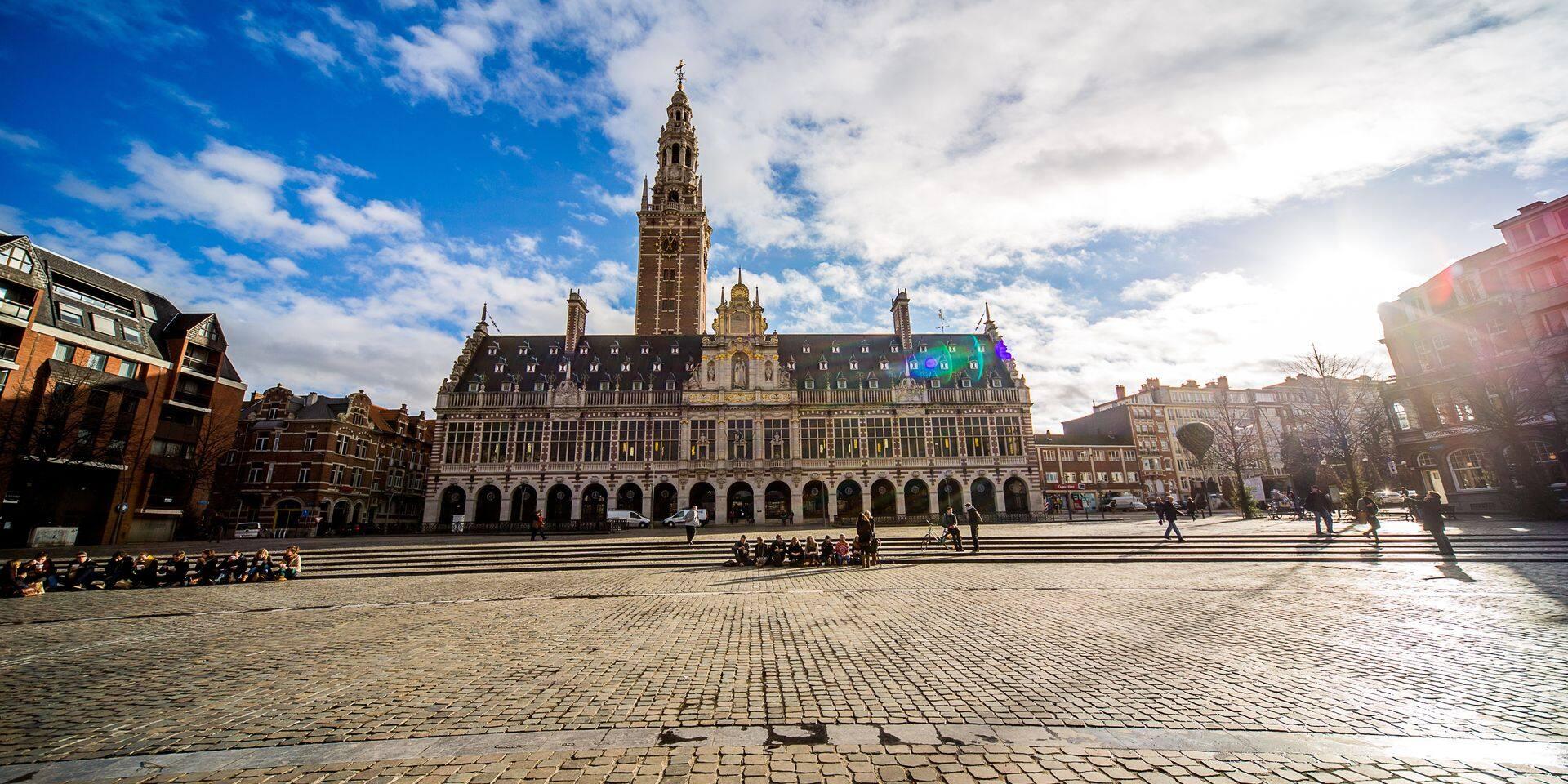 La KU Leuven joue dans la cour des grands depuis bientôt 600 ans
