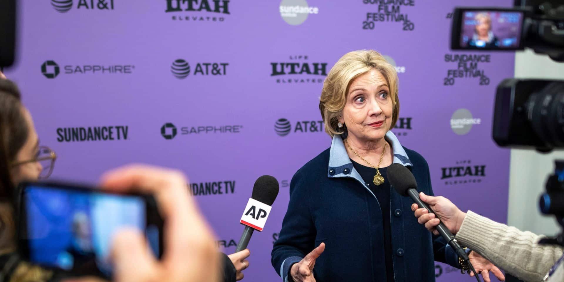 """Hillary Clinton : les Etats-Unis """"ne peuvent se permettre quatre ans de plus"""" avec Trump"""