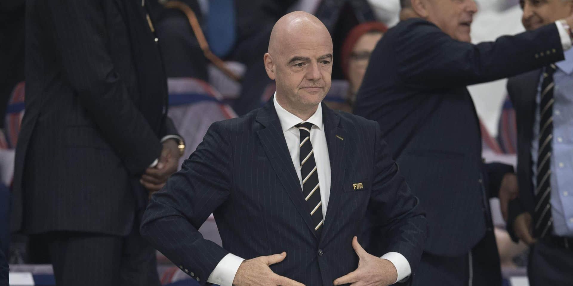 Corruption à la FIFA: Gianni Infantino affirme n'avoir rien à cacher