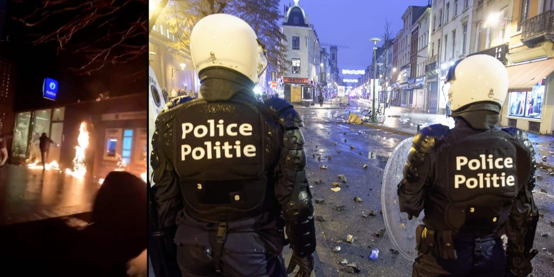 Bilan des émeutes après la manifestation pour Ibrahima: deux majeurs et un mineur privés de liberté