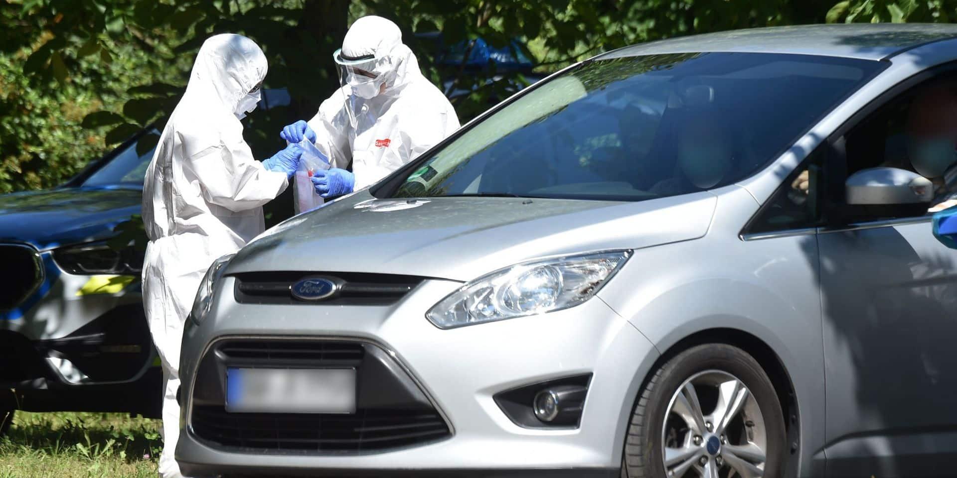 """Coronavirus: l'augmentation des cas en Allemagne source de """"grandes inquiétudes"""""""