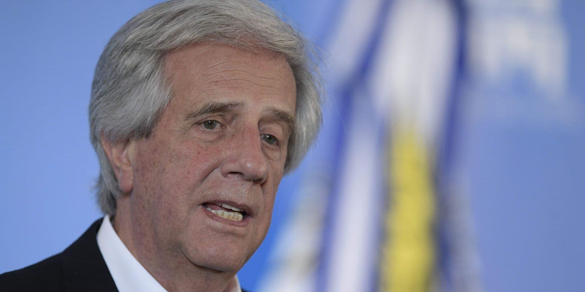 Deux fois président de l'Uruguay, Tabaré Vazquez est décédé
