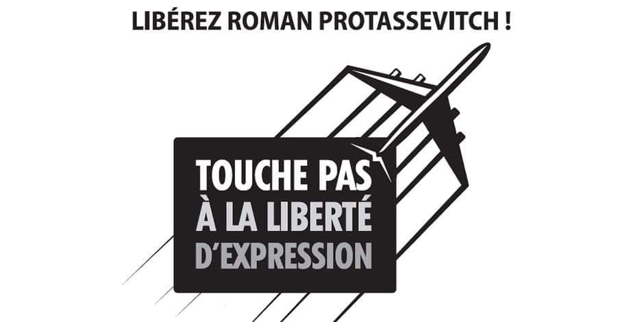 """Les éditeurs de journaux européens lancent une campagne de soutien envers Roman Protassevitch face au """"dictateur"""" Loukachenko"""