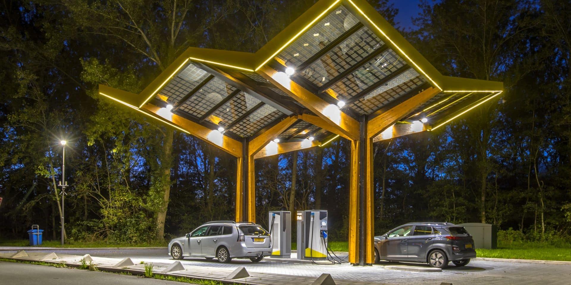 Levée de fonds de 150 millions d'euros pour Fastned en vue de construire des stations de rechargement électrique