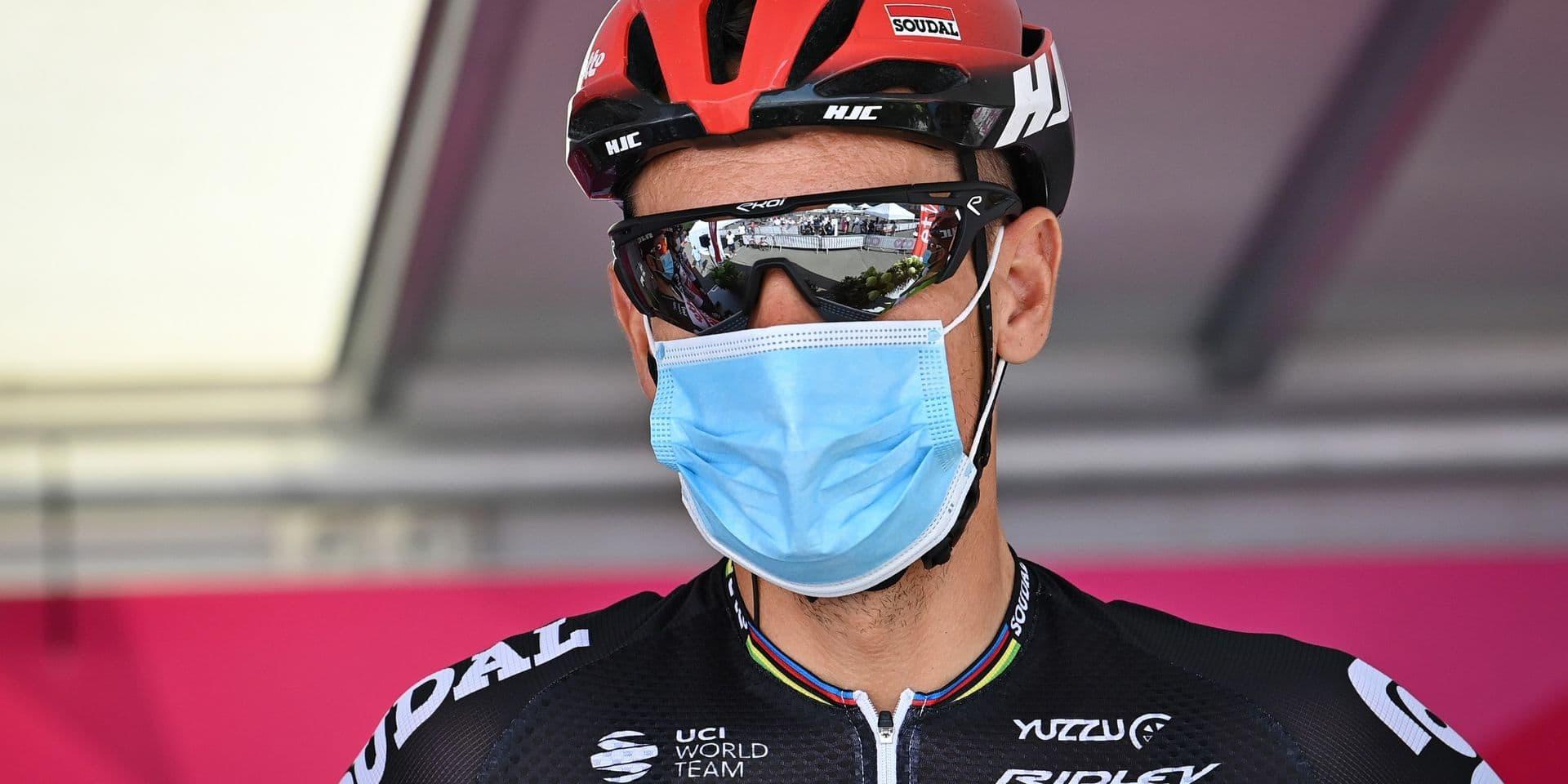 Philippe Gilbert à l'hôpital, sa participation à la seconde étape incertaine