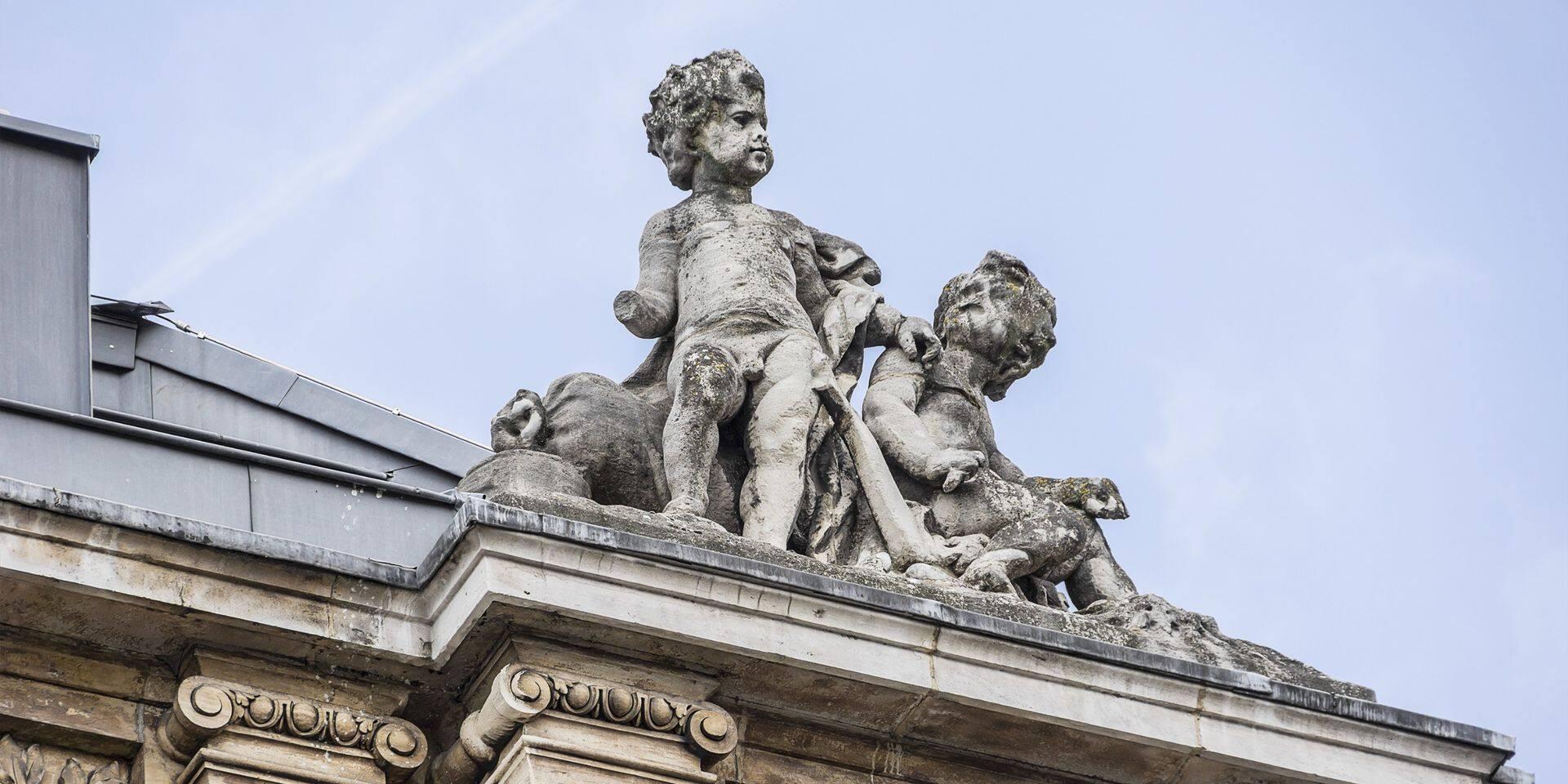 La Bourse de Bruxelles enregistrait un accès de faiblesse, terminant la journée en baisse de 0,40 %