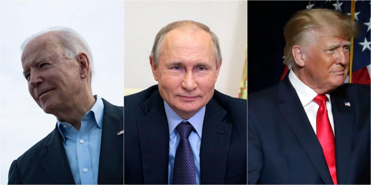 """Poutine croit que Trump est """"un individu extraordinaire"""" mais espère que Biden est moins impulsif"""