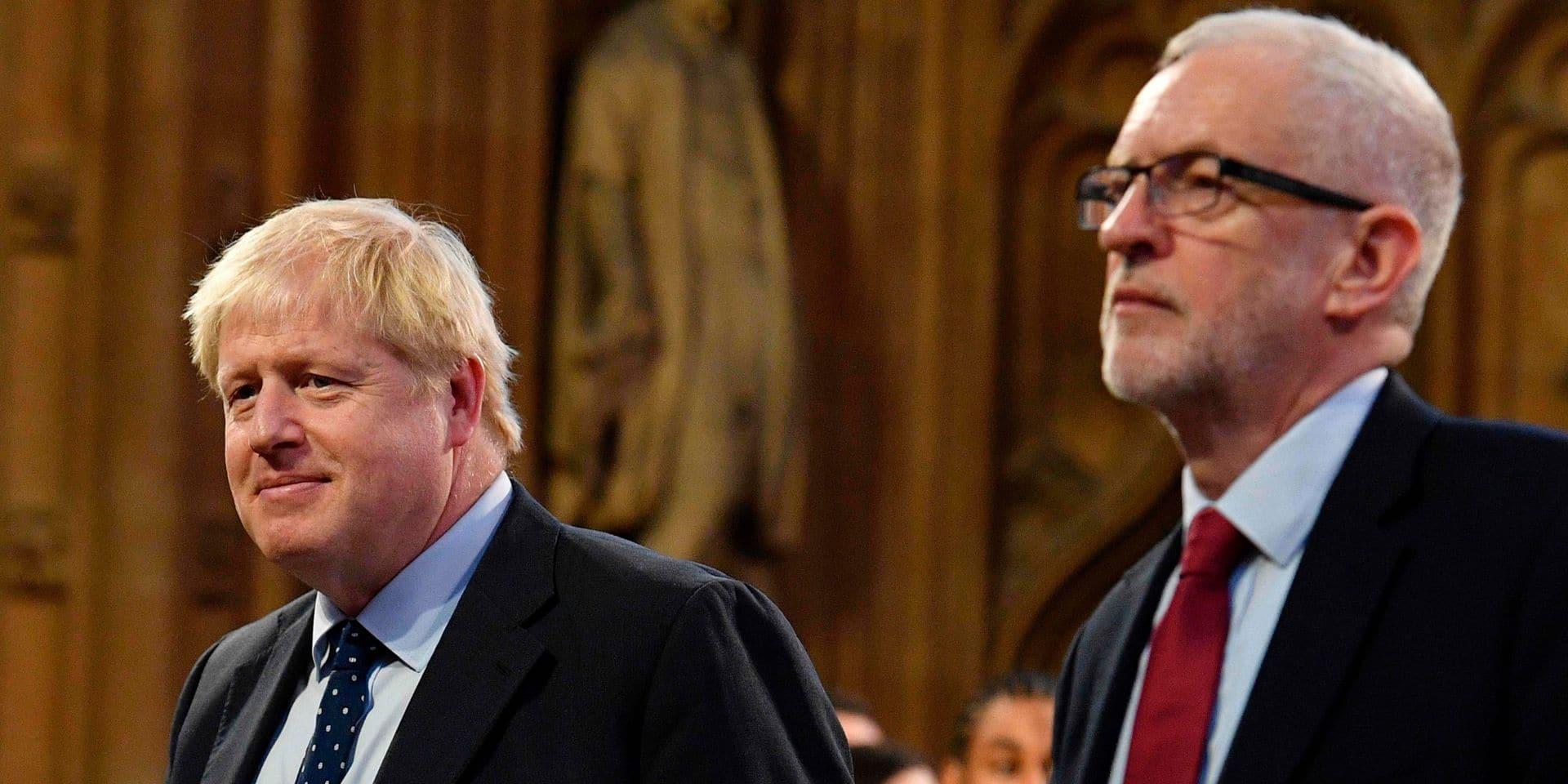 Alors que le Brexit aurait dû avoir lieu ce jeudi, le ton monte entre Boris Johnson et Jeremy Corbyn