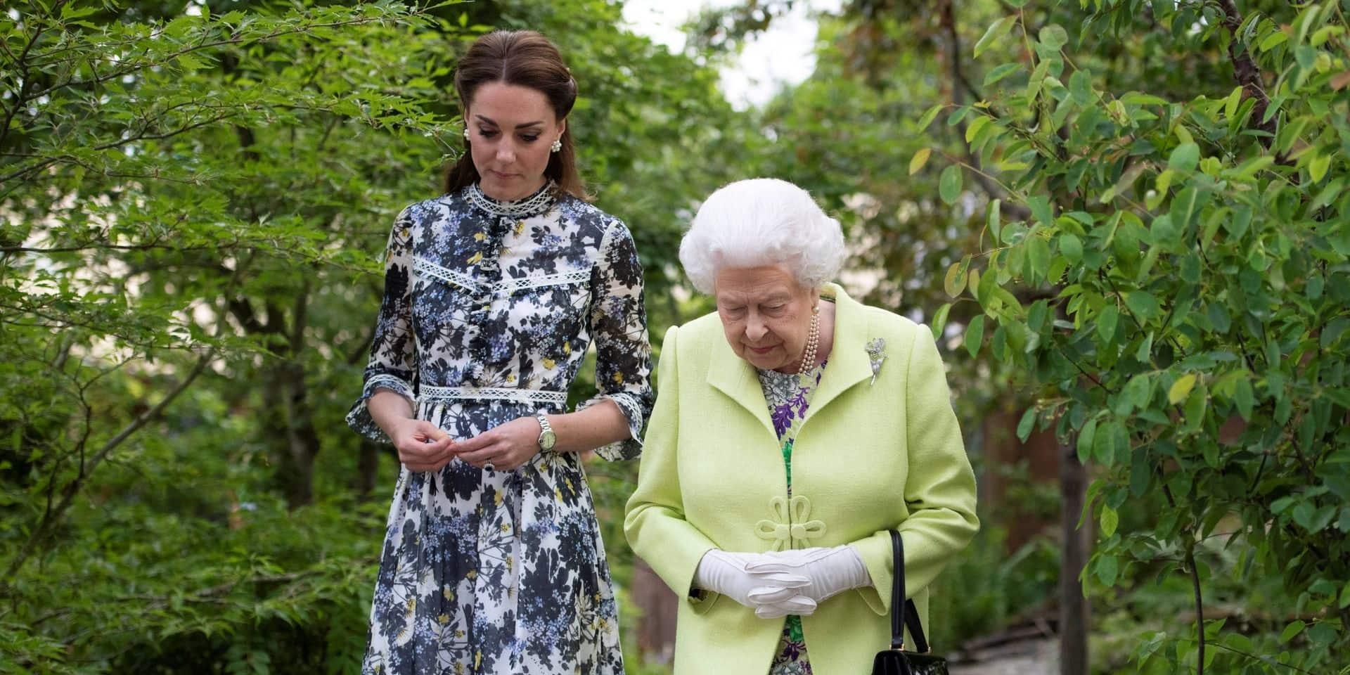 Kate Middleton se voit accorder un privilège qui en dit long par Elizabeth II