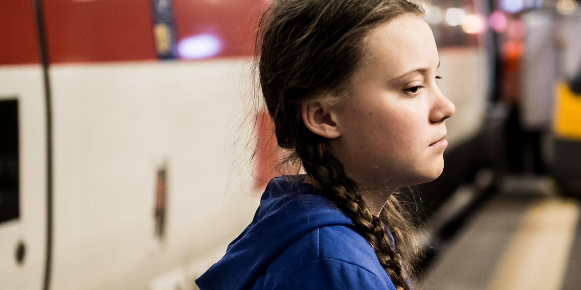 """Greta Thunberg: """"L'avenir? Le plus effrayant c'est qu'on ne sait pas ce qui va se passer"""""""