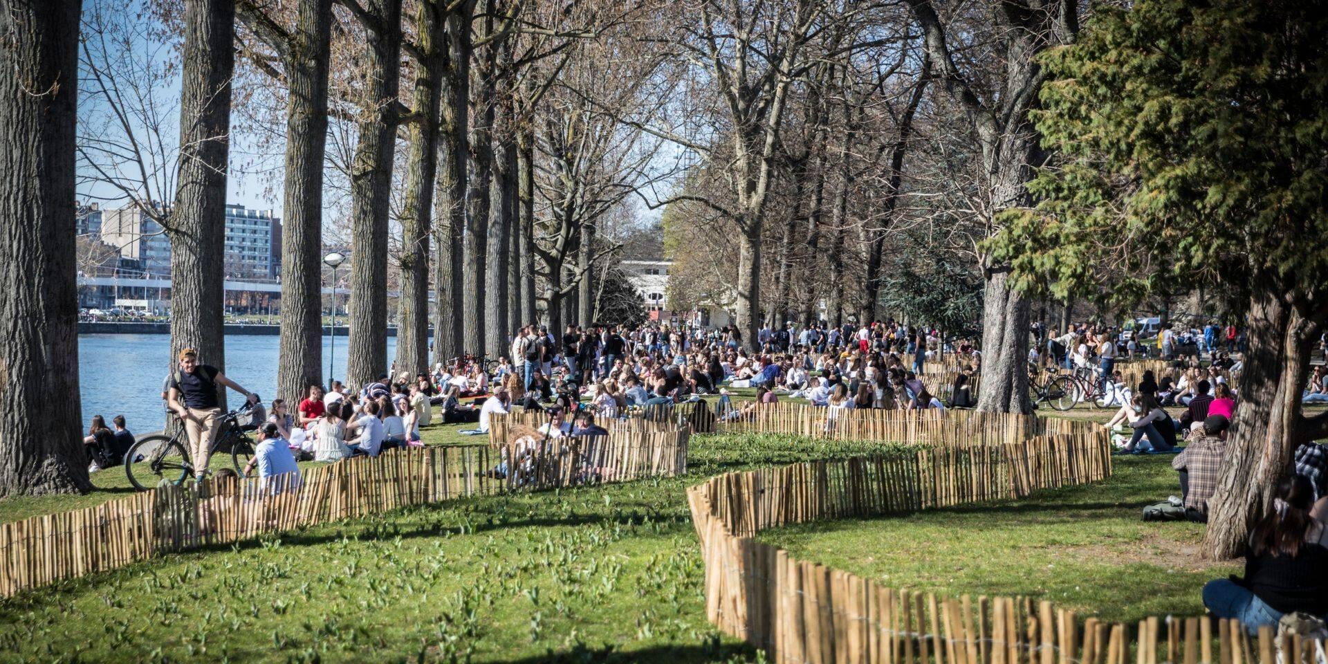 Liège : fin du couvre-feu à la Boverie et au Jardin Botanique
