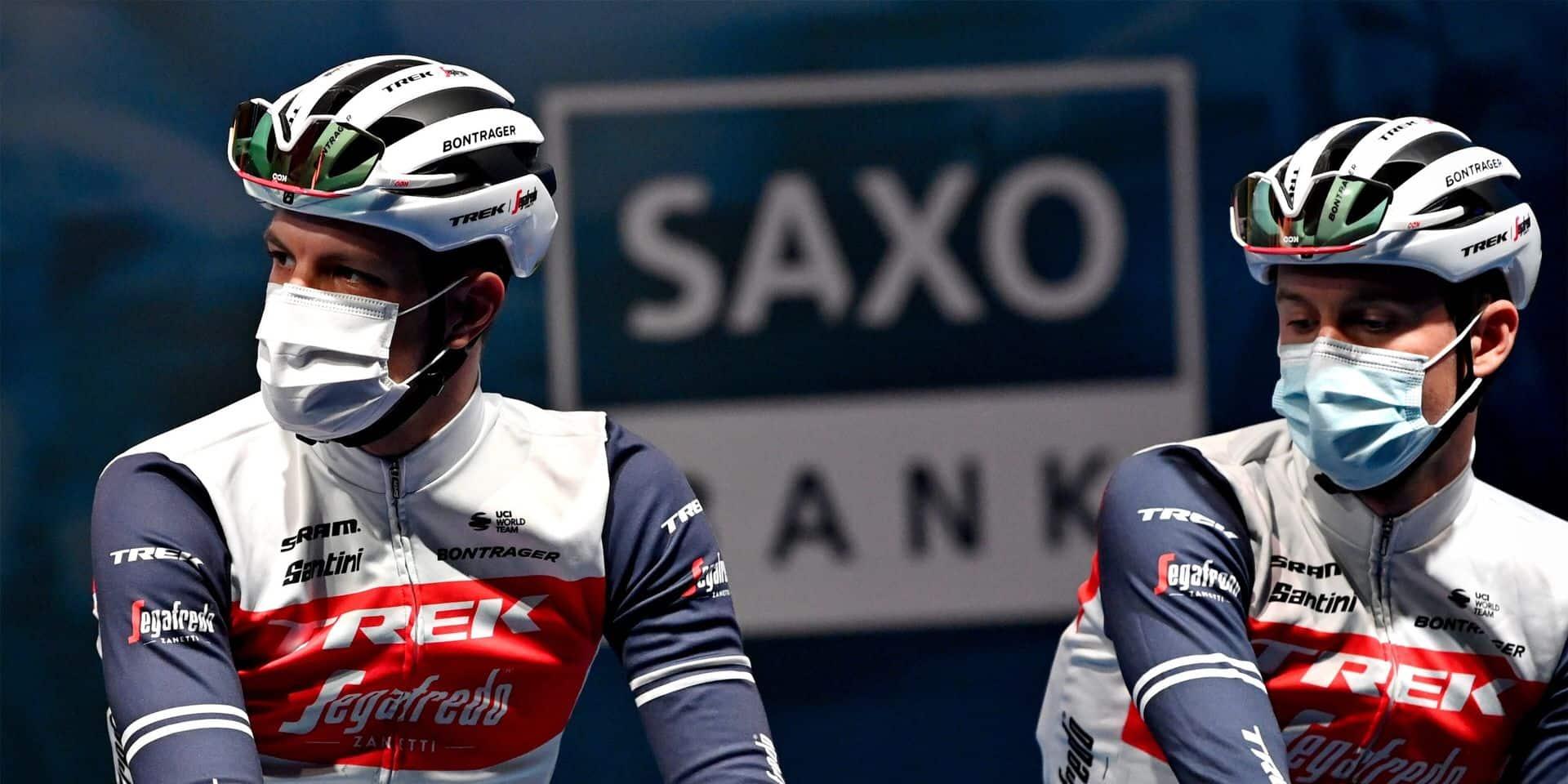 Aucun coureur Trek-Segafredo autorisé à prendre le départ de Gand-Wevelgem ce dimanche !