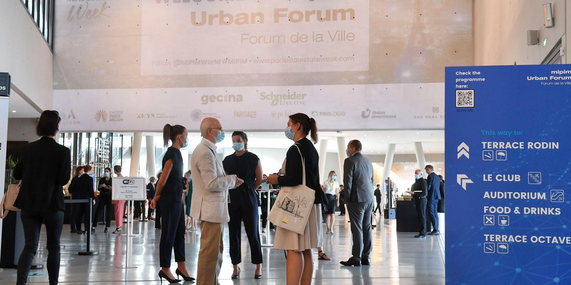 MIPIM URBAN FORUM 2020 - ATMOSPHERE - EXHIBITION AREA - NETWORKING ZONE