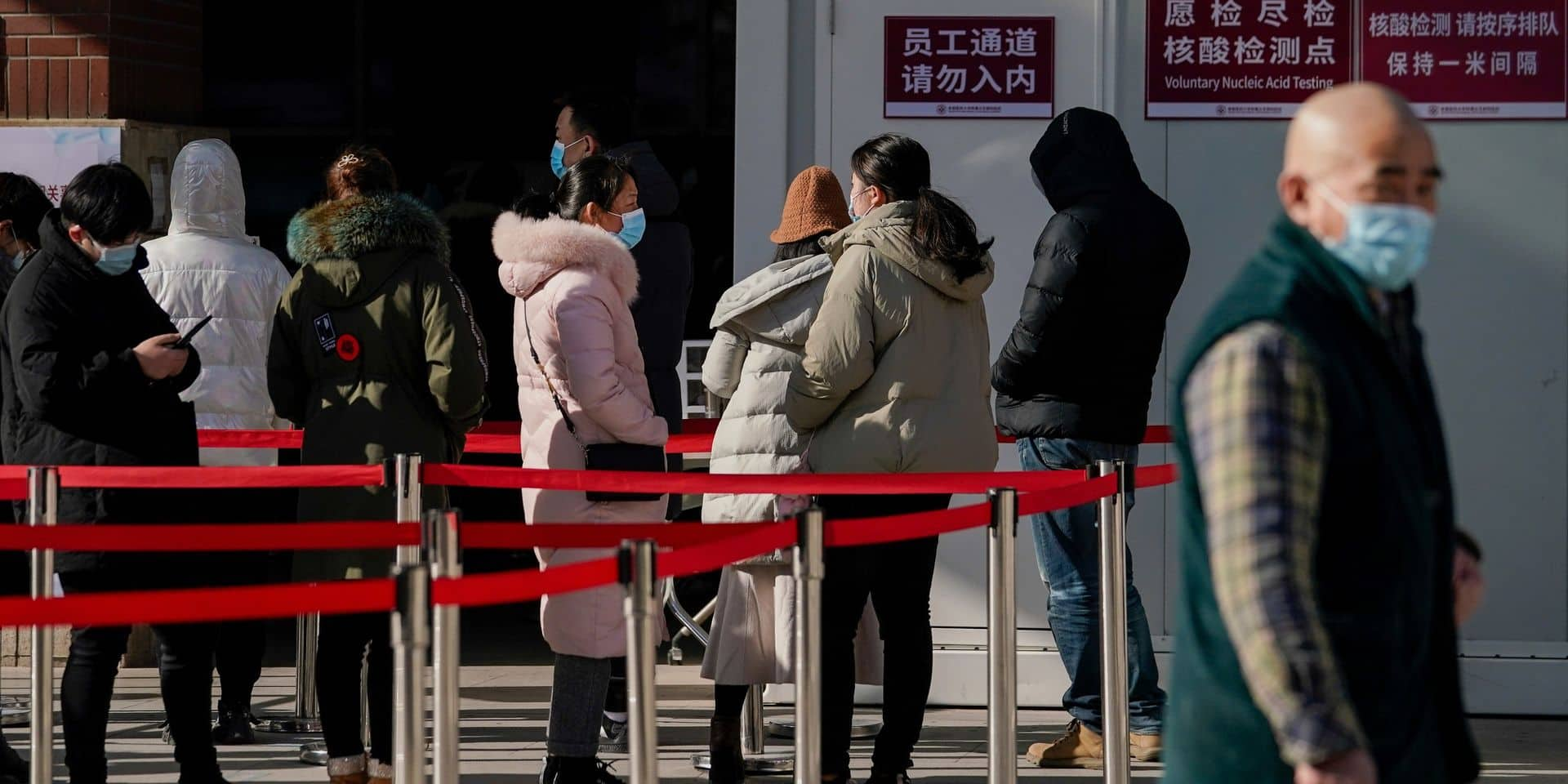 """La Chine et l'OMS auraient pu agir plus vite sur l'épidémie: le virus a bénéficié d'une """"épidémie en grande partie cachée"""""""