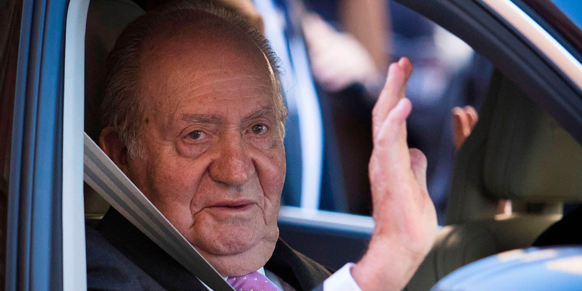 """Des soupçons mais pas d'enquête contre Juan Carlos rappelle le gouvernement espagnol: """"il ne fuit rien puisqu'il n'est impliqué dans aucune affaire"""""""