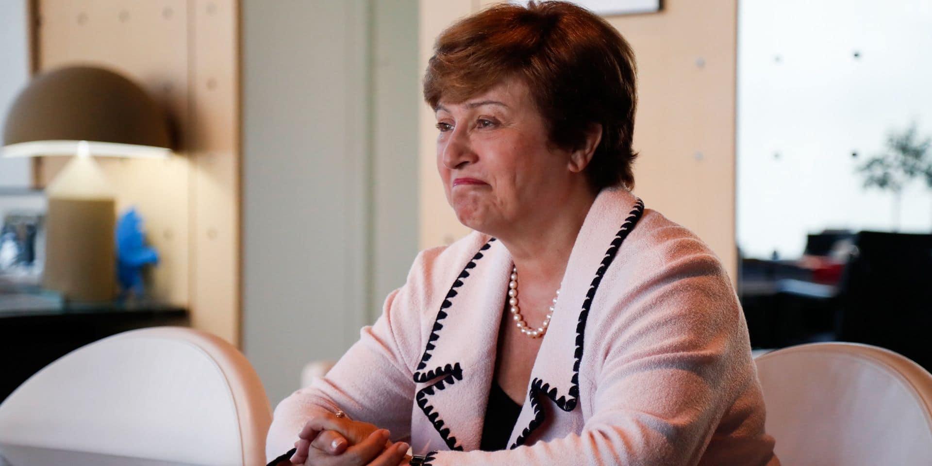 Kristalina Georgieva, seule candidate pour diriger le FMI