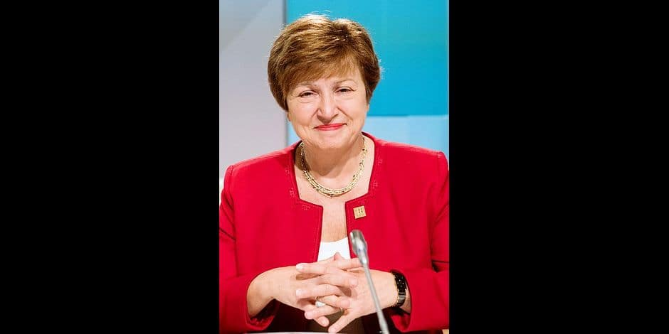La patronne de la Banque mondiale Kristalina Georgieva à Vienne, le 18 décembre 2018