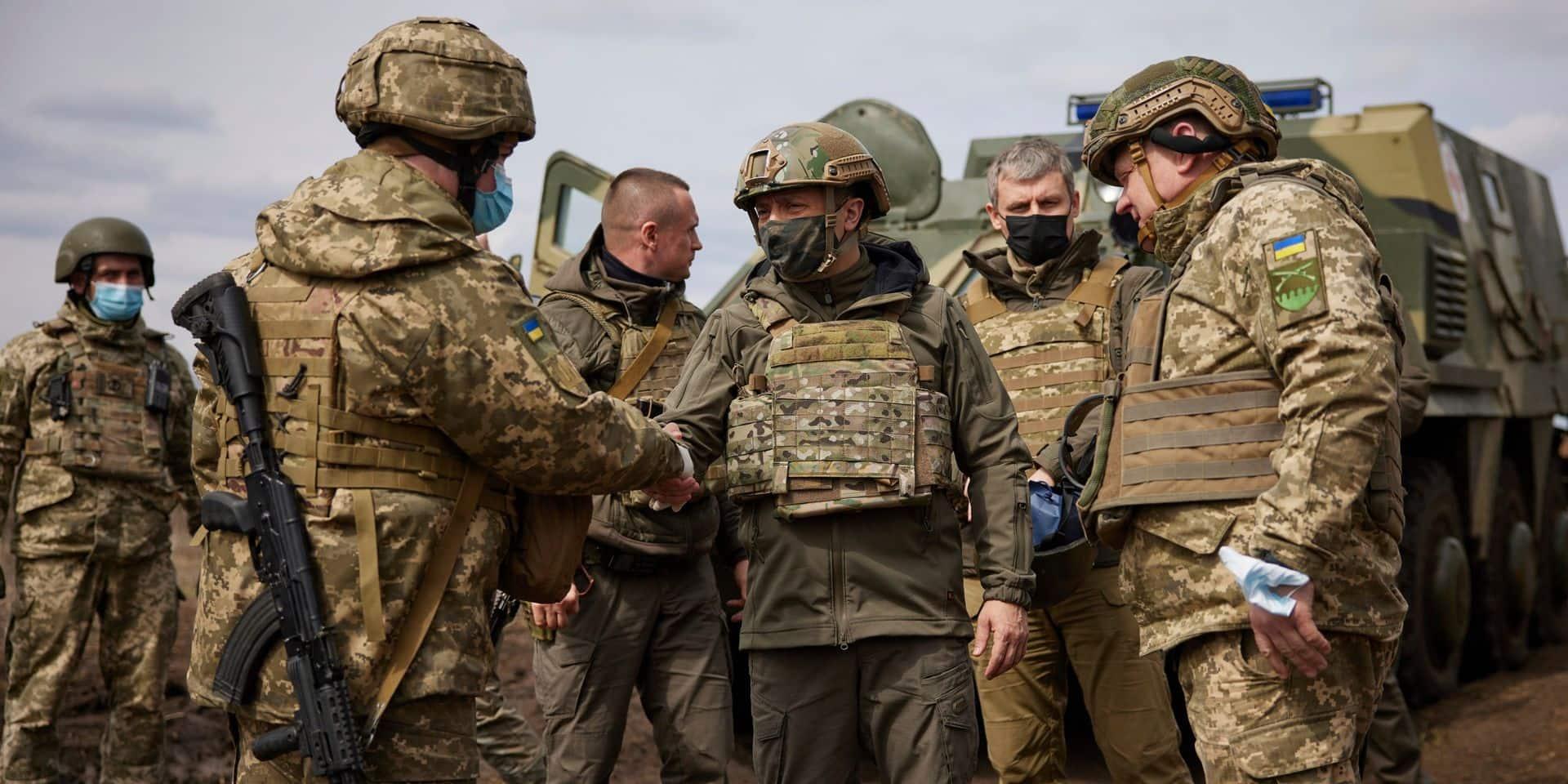 Kiev accuse Moscou de désinformation sur ses velléités d'offensive