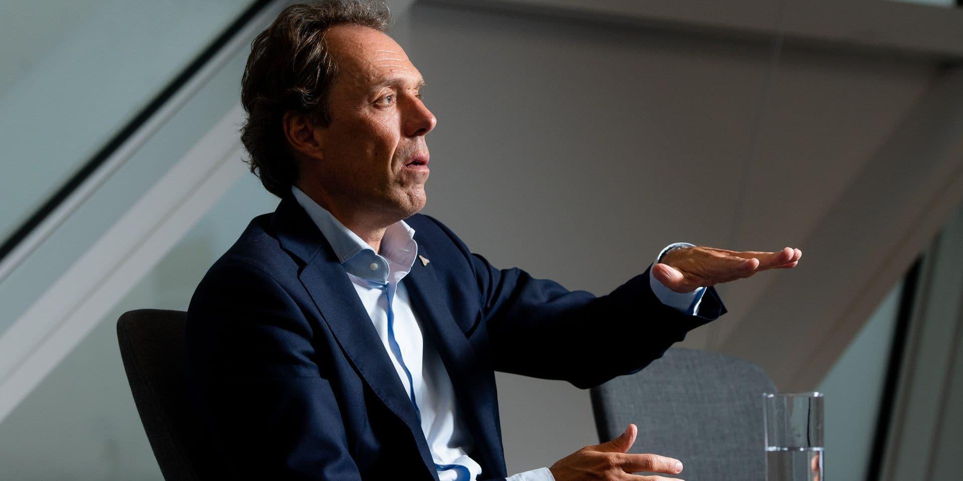 """Jacques Vandermeiren (CEO du port d'Anvers): """"L'écart avec Rotterdam n'est plus aussi énorme"""""""