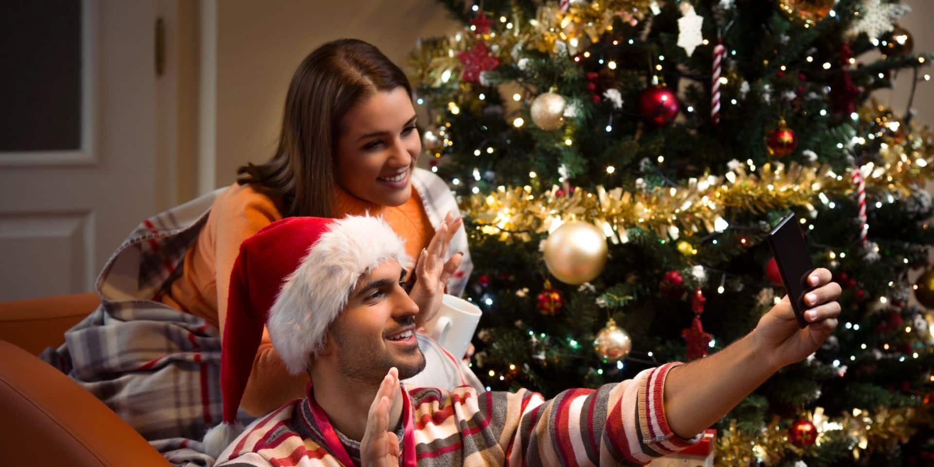 L'internet mobile, incontournable moyen pour se souhaiter un Joyeux Noël cette année