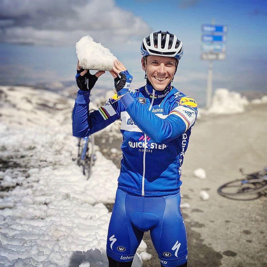 Philippe Gilbert a conclu en fin de semaine dernière un stage              en Sierra Nevada où il a roulé à plus de… 3000 mètres !